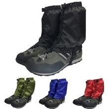 1 пара водонепроницаемых походов, прогулок, альпинизма, охоты, снега, гетры, лыжные гетры, обувь, покрытие, анти-осенняя тканевая крышка