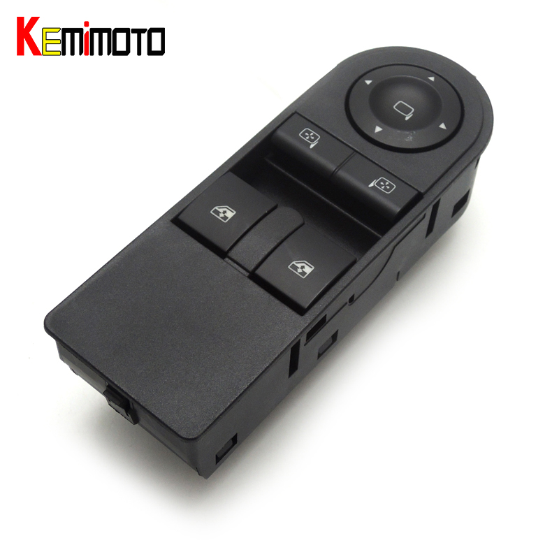 KEMiMOTO New Brand Window Switch for Opel Astra H 2005-2010 Zafira B 2005-2015 13228706 рюкзак brand new 2015 24513