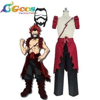 7549c8439f871 CGCOS liberan el traje mi héroe Academia Boku no héroe Academia Eijirou  Kirishima uniforme Anime Halloween Navidad