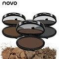 NOVO New Eye Care eyebrow pencil arrival quick eyebrow stamp brwon and grey colors eyes makeup eye brow powder makeup tools