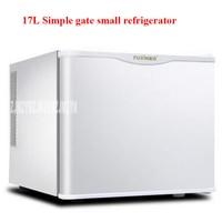 BC-17A 220 볼트/50 헤르쯔 단일 문 작은 냉장고 냉장 볼륨 17L