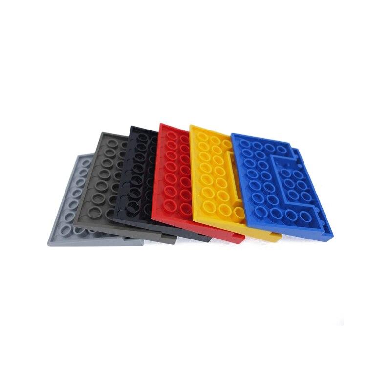 Lego 10 Orange 2x2 regular slopes brick block NEW