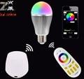 mi.light 2.4G E27 9w led bulb rgbw rgbww led lamp AC85-265v,wireless rf remote and wifi led controller for rgbw rgbww led bulb