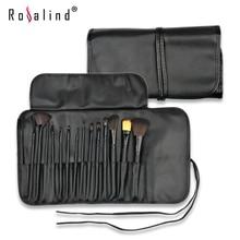Rosalind New 2015  Makeup 15 Pcs Soft Synthetic Hair Make up tools kit Cosmetic Beauty Makeup Brush Set Case Free Shipping