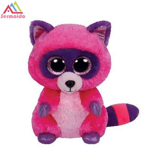 ... sermoido TY Beanie Boos LEEANN - Pink Lemur reg Plush Stuffed Animals  Collectible Soft Toys Big ... 0447d27d4b18