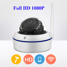 Full HD 1080P IP Camera Wireless Home Video Surveillance Smart Dome IR CCTV P2P Android IOS Network Security Dome IP Camera Wifi