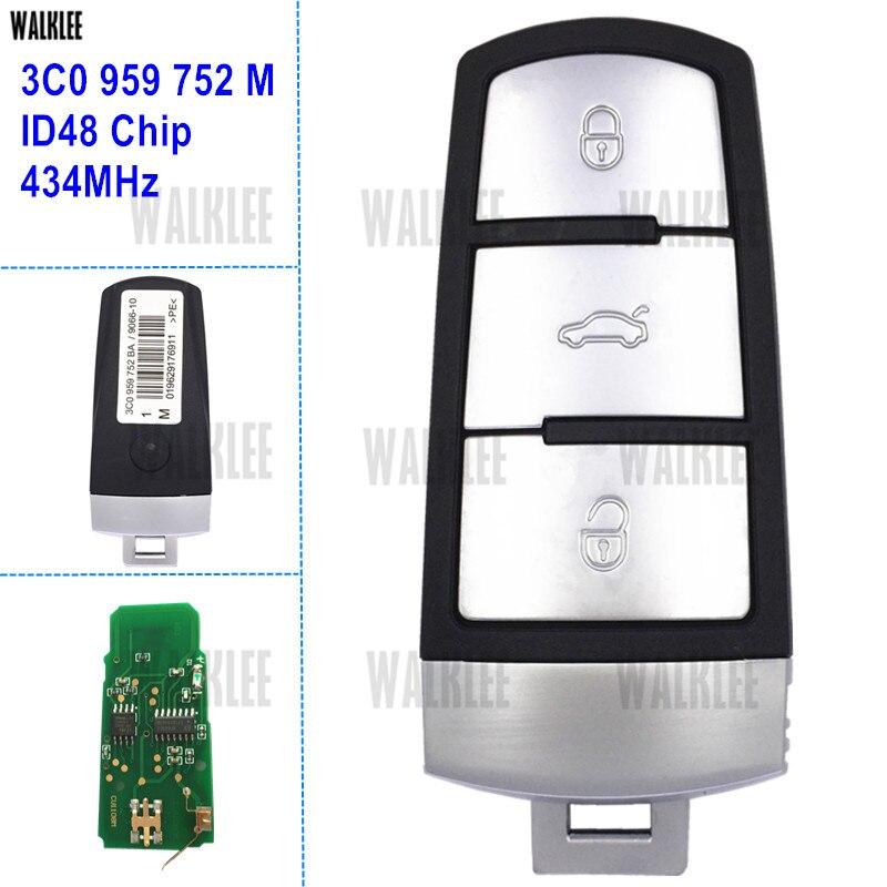 walklee smart remote key door controller mhz suit  vwvolkswagen passatccmagotan