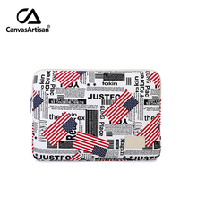 11 inch ipad protective small notebook briefcase stylish printing canvas bag mac tablet sleeves fit for