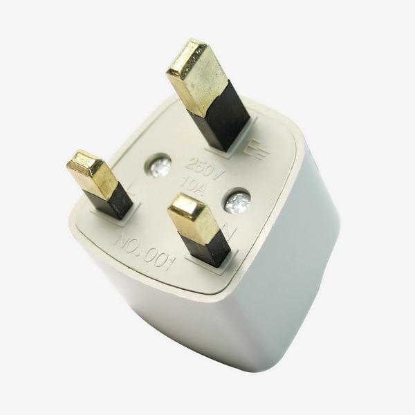 universal travel adapter au us eu to uk adapter converter. Black Bedroom Furniture Sets. Home Design Ideas