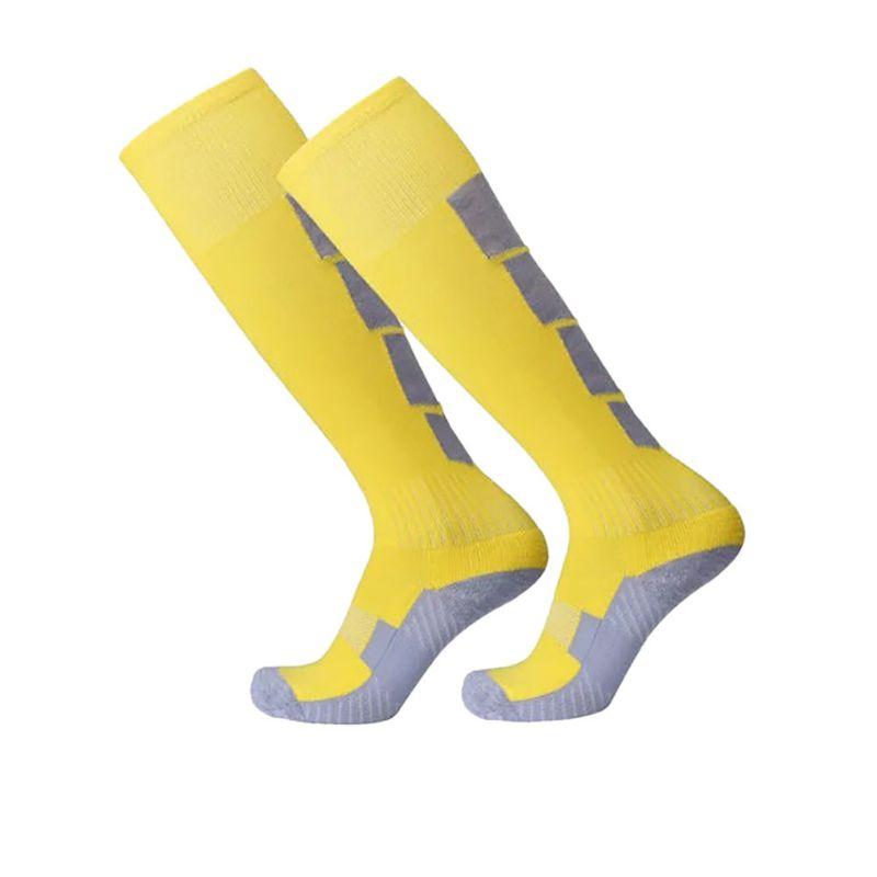 Men Boys Cotton Comfortable Leg Compression Long Socks Stretch Relief Soft Socks Plain Over Knee High Sock New