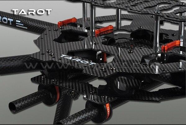 TAROT 6 Axis IRON MAN FY690S z włókna węglowego 3 K składany Hexacopter zestaw ze szkieletem FPV TL68C01 w Części i akcesoria od Zabawki i hobby na  Grupa 2