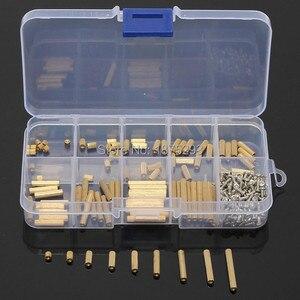 270pcs PCB M2 Female Threaded Brass Spac