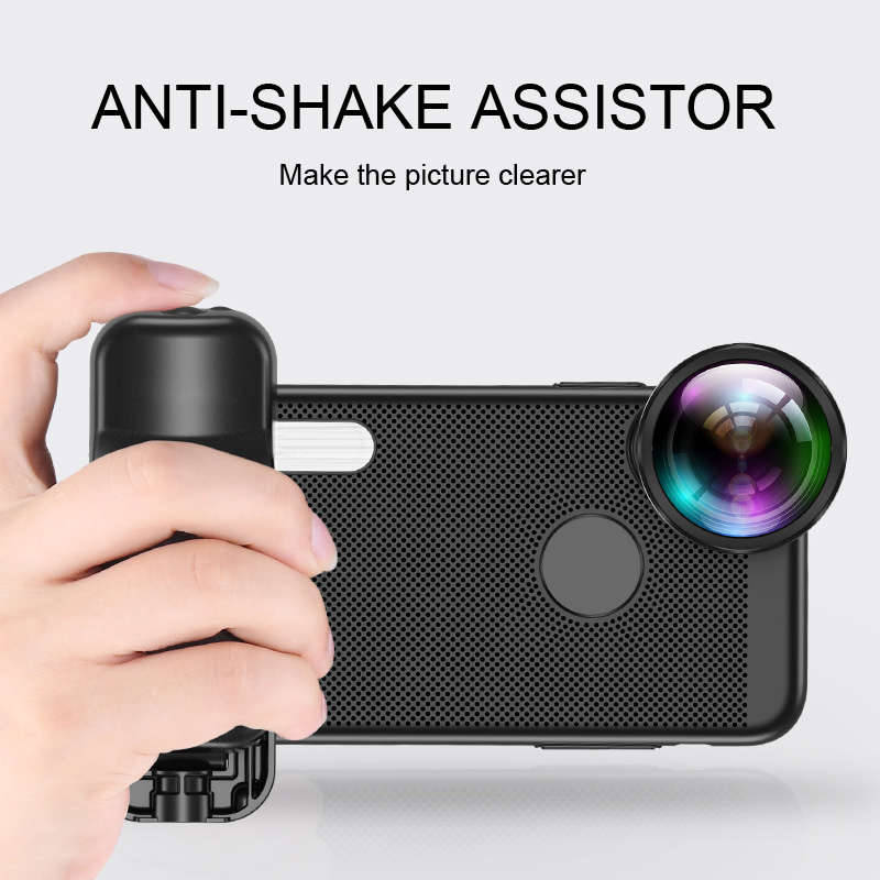 Selfie Booster Handle Grip Bluetooth Photo Stablizer Holder With Shutter Release For IPhone X 8 7 Xiaomi Huawei Samsung