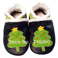 Free shipping 8pairs/lot Guaranteed 100% soft soled Genuine Leather baby shoes baby first walker dr0007-39