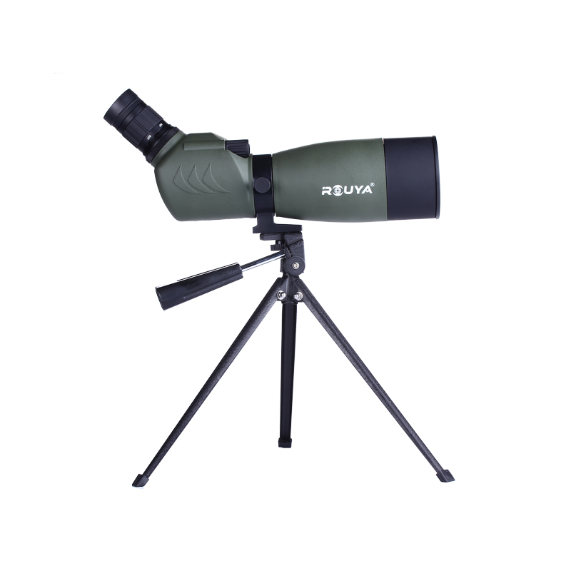 ROUYA Professional HD zoom 15-45x50 monocular 20-60x60 telescope 25-75x70 spotting scope with tripod for outdoor bird watching стоимость