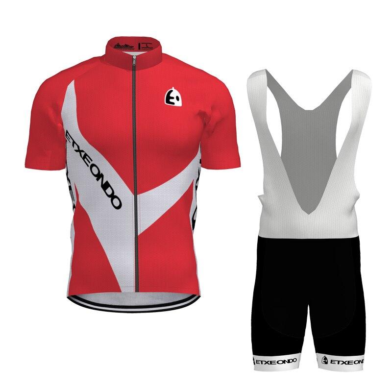 2019 Mens Cycling Jersey suit Cycling Uniform Bike Shirt Bicycle Bib Shorts sets