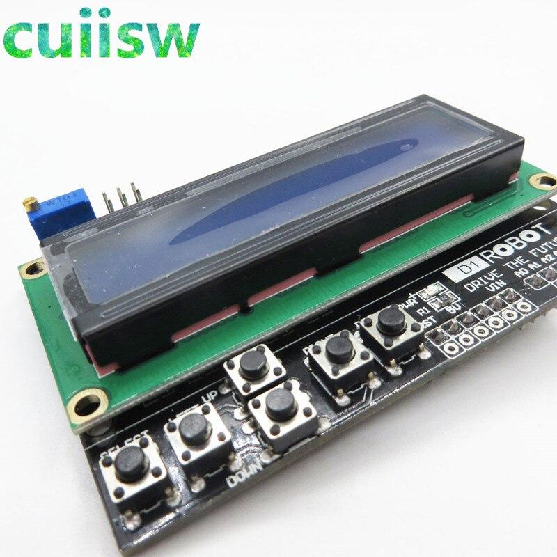 Protetor do teclado lcd do caráter lcd1602 placa de expansão de entrada e saída lcd para arduino