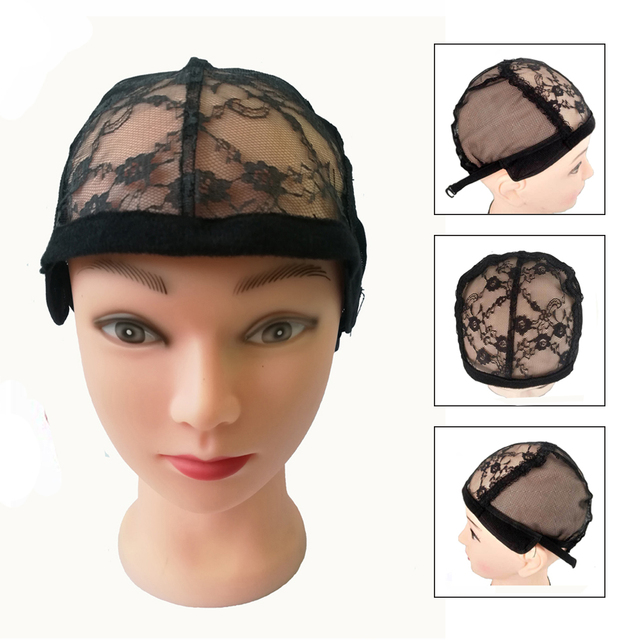 5pcs Lace Wig Cap For Making Wigs With Adjustable Strap On The Back For Women  Making Cheap Lace Front Wigs 87a42ebc86