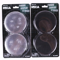 NECA Figure Display Stands Compatible With Most 6 9 Action Figures Black White 10pcs Dozen