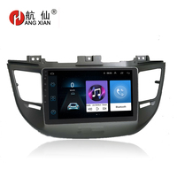 HANG XIAN 9 Quadcore Android 8.1 Car radio for 2015 HYUNDAI IX35 New Tucson car dvd player GPS navigation car multimedia