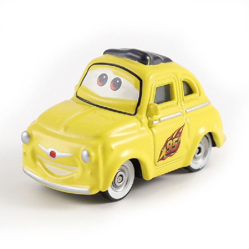 Cars Disney Pixar Cars 2 Luigi & Guido Metal Diecast Toy Car 1:55 Loose Brand New In Stock Disney Cars2 And Cars3 Free Shipping