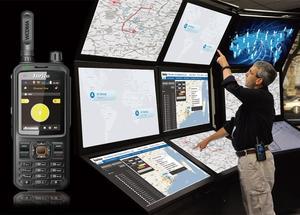 Image 5 - 2019 new network two way radio T298s WCDMA GSM WIFI GPS bluetooth walkie talkie UHF intercom transceiver