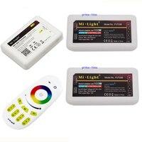 Mi. licht 2 4g 4 zone rf wireless touch screen fernbedienung + wifi hub + 2 xrgbw led group controller für rgbw oder rgbww led streifen licht-in RGB-Controller aus Licht & Beleuchtung bei