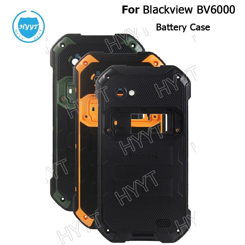 Цена за Для Blackview BV6000 Батарея чехол с излучающей пленки Оригинальные Замена тонкий защитный Батарея чехол для Blackview BV6000