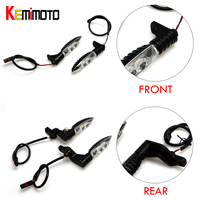 KEMiMOTO F800GS R1200GS ADVENTURE 2006 2013 Front And Rear Indicators Motorcycle Turn Signal Lights For BMW