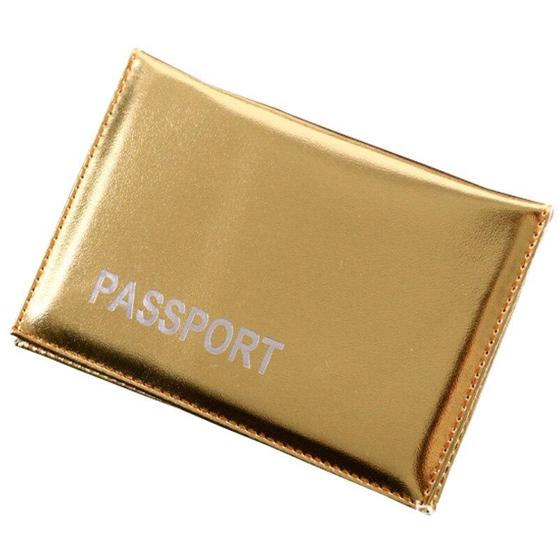 Elegante funda para pasaporte Smoot Gold Ladies Girls Titular de - Monederos y carteras