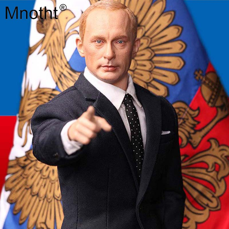 1/6 Scale President of Russia Vladimir Putin Action Figure Full Set R80114 With Head Sculpt Body Clothes Suit Model m3n toy gift 1 6 fs010 phoebe agent kristen stewart american ultra movie full sets figure with head sculpt female body shoes jeans model m3n