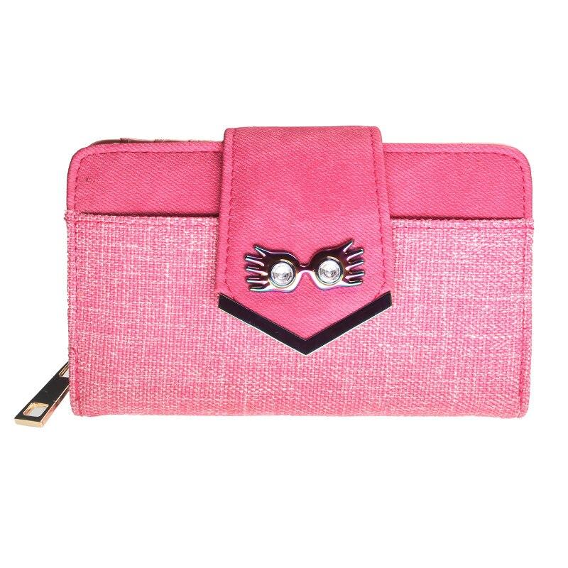 Luna Glasses  Wallet Women Pink Purse DFT-6738
