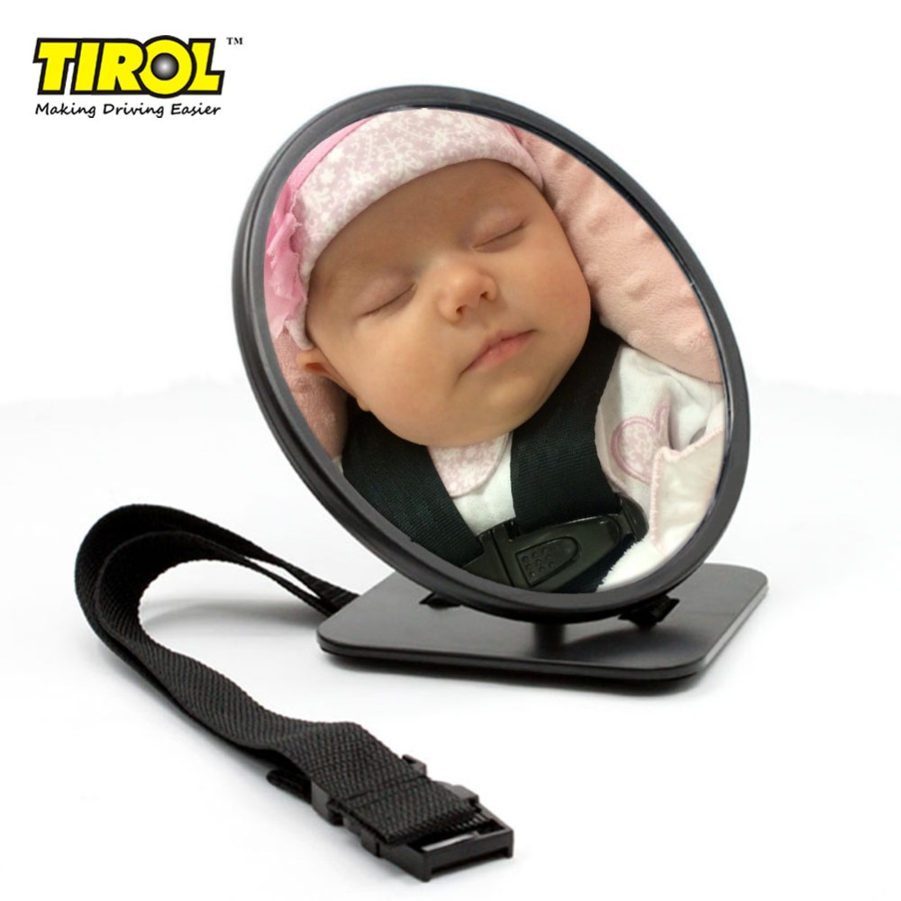 Tirol T20245a Auto Adjustable Baby Safety Mirror Auto Rear Baby Safety Mirror for Car Baby Safety Products Free Shipping