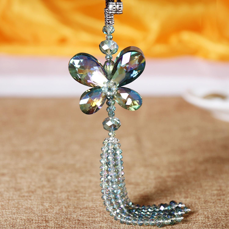 Австрия жоғары сапалы Butterfly Crystal Pendant - Автокөліктің ішкі керек-жарақтары - фото 3
