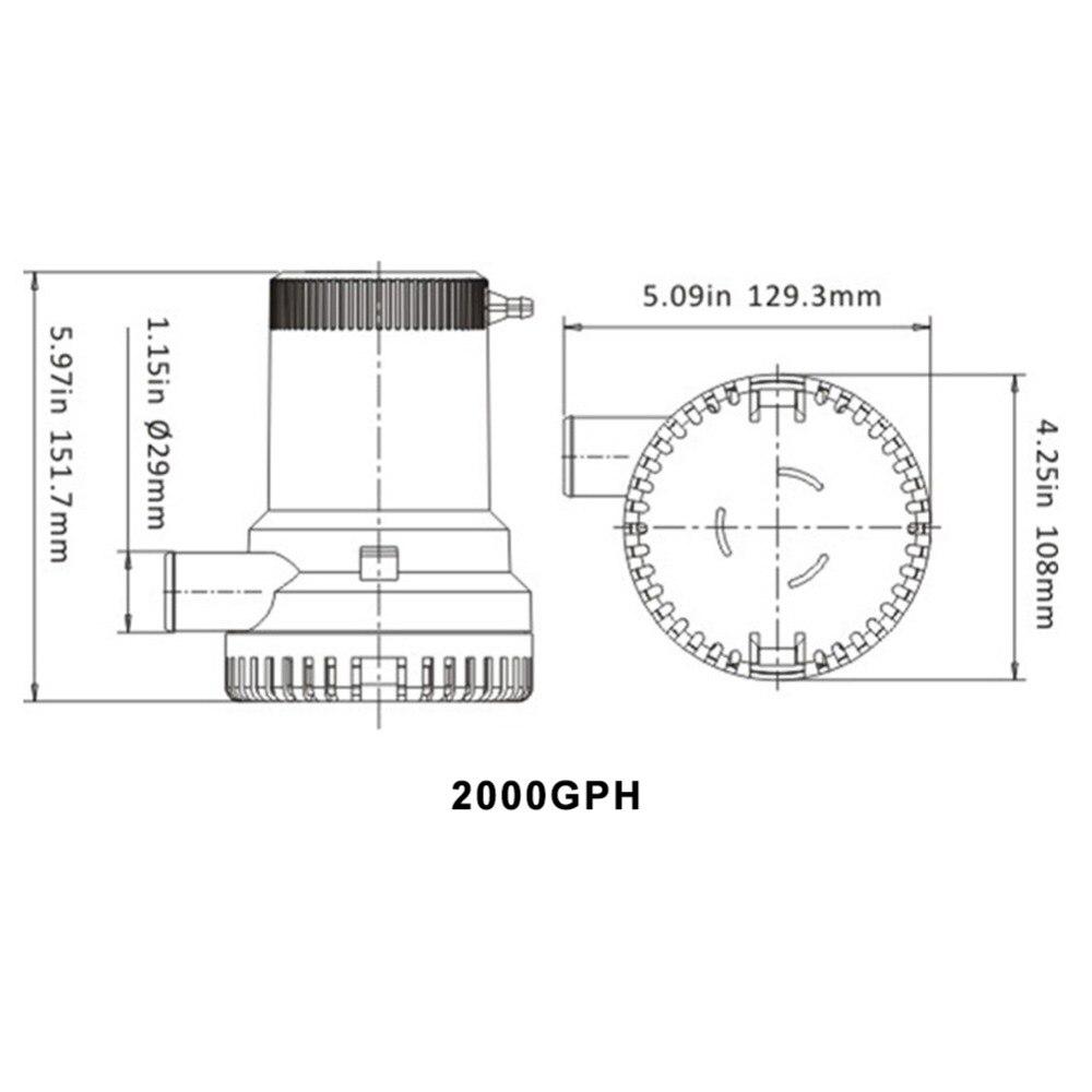 Rule 2000 Bilge Pump Wiring Diagram Electrical Diagrams Fuel Gauge On 3 Way Gph Block And Schematic U2022 800