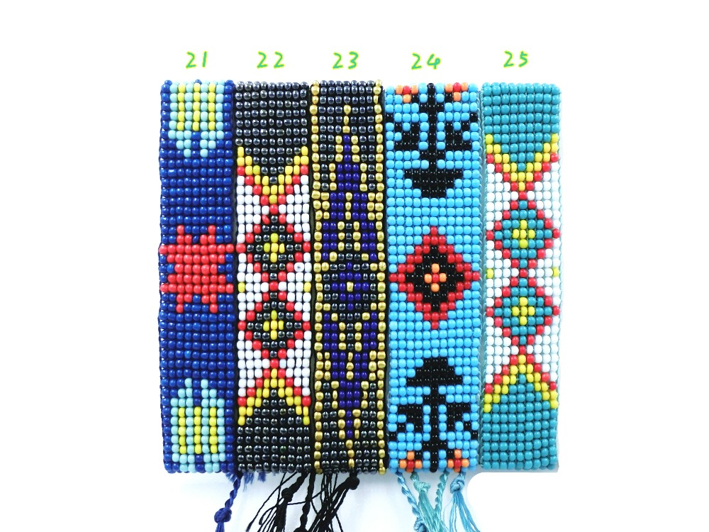 AMIU Handmade Friendship Bracelet Hippy Colorful Seed Beads Charm Friendship Trendy Bracelets For Women Men Christmas Day 18 1