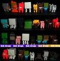 Azar enviar 25 unids/lote 1.5-3 CM original juguetes mina artesanía juguetes conjunto de Juguetes de Montaje de Bloques de Construcción de Juguete DEL PVC figura de acción conjunto