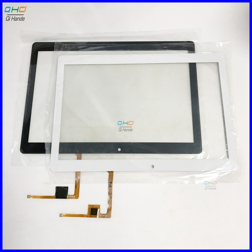 Free shipping 10.1 inch touch screen 100% New for Irbis TZ186 TZ-186 TZ 186 touch panel Tablet PC sensor digitizer black and white for irbis tz191 tz 191 tablet capacitive touch screen 10 1 inch pc touch panel digitizer glass mid sensor
