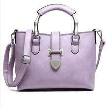 ผู้หญิงแฟชั่นกระเป๋าข้อความกระเป๋าวินเทจCrossbodyไหล่สไตล์ยุโรปกระเป๋าToteกระเป๋าสามสี