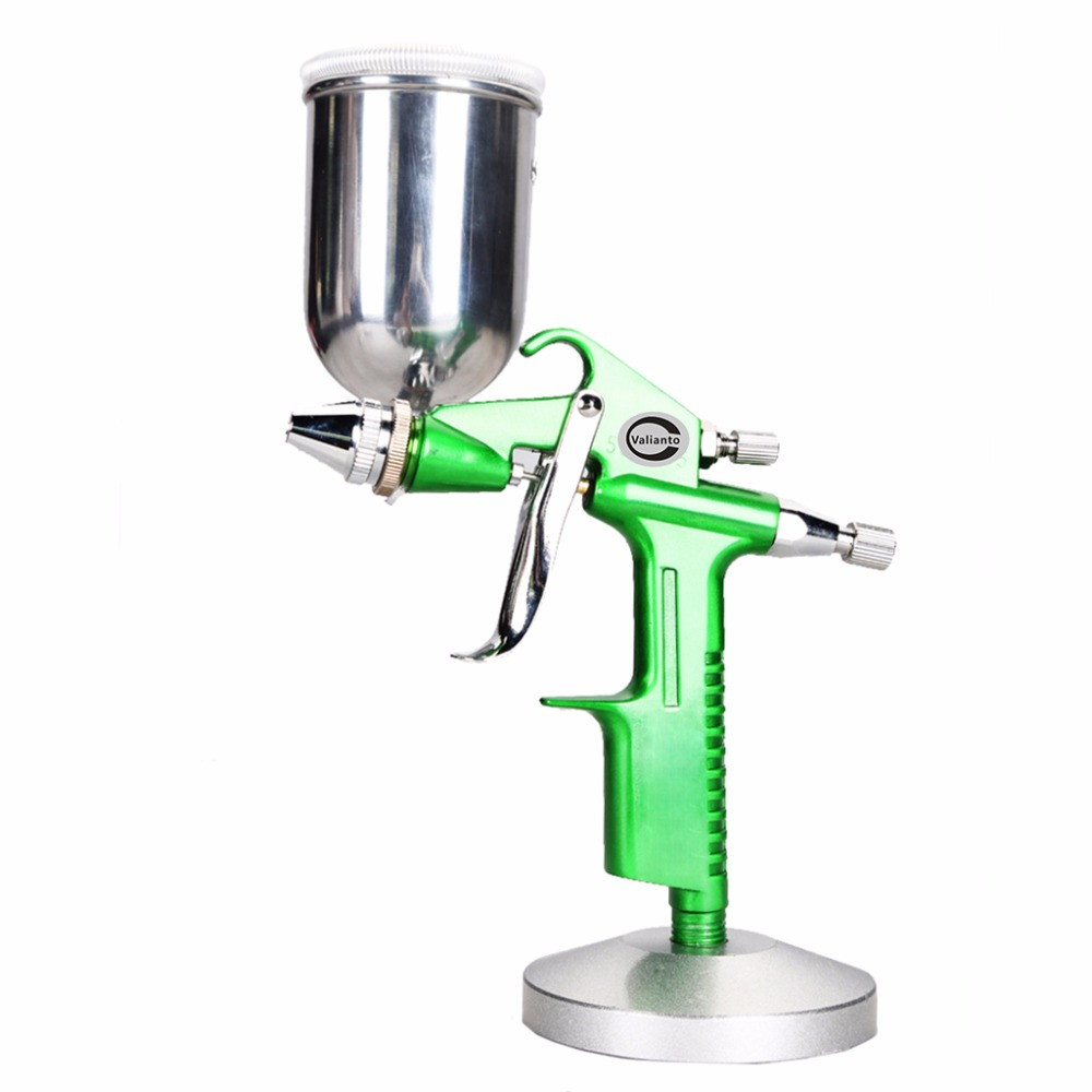F-2 Professional HVLP Spray Gun Mini Air Paint Spray Guns Airbrush Gravity Feed Spray Gun For Painting Car Aerograph стоимость