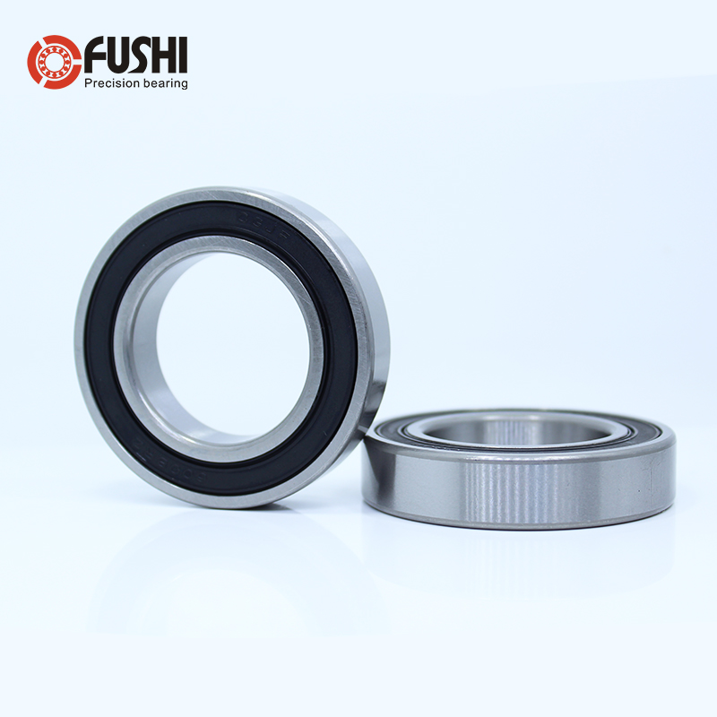 6807RS 6805RS <font><b>6802RS</b></font> <font><b>Bearing</b></font> 10PCS Slim Thin Section Deep Groove Ball <font><b>Bearings</b></font> 6807 6805 6802 2RS image