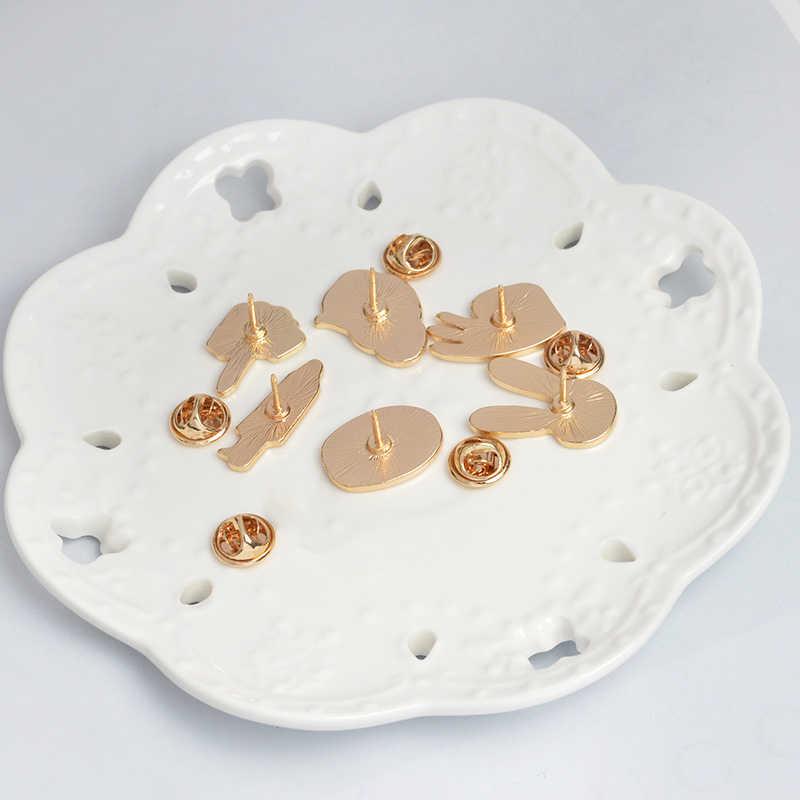 Coniglio bianco maschera maschera di figura segno cervello sveglio del fumetto brooches di pin distintivo di monili Delle Donne Della Ragazza bambino regali