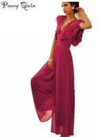 Elegant temperament jumpsuits rompers womens jumpsuit Ruffles SEXY macacao feminino overalls bodysuit for women vestidos