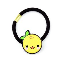 Korean Cute Cartoon Chicken Sunflower Rubber Band Kids Girl Colorful Acrylic Elastic Hair Rope Student Styling Ponytail Holder