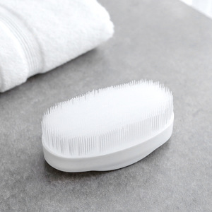 Image 2 - 5pcs White Home Cleaning Brush Laundry Clothes Cleaner Tools Bathroom Accessories Cleaning Supply Shoes Cleaner  Washing Brush