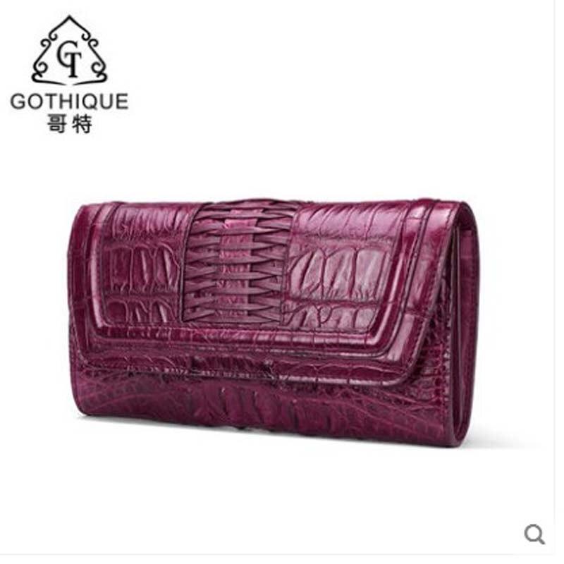 gete 2019 new crocodile handbag for ladies Thai leather fashion clutch dinner bag crocodile handbag for ladiesgete 2019 new crocodile handbag for ladies Thai leather fashion clutch dinner bag crocodile handbag for ladies