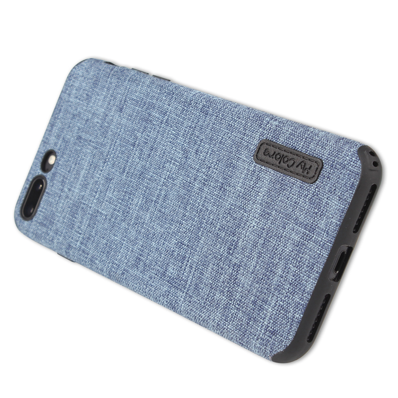 Cloth Case For iPhone 8 8 Plus Fashion Linen Cloth & Soft TPU Silicone Anti-knock Cover For iPhone 7 7 Plus Phone Protective Shell (3)