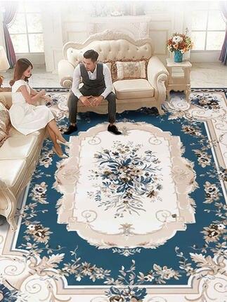 Style européen tapis doux chambre salon sol maison paillassons effondrés mètres Machine lavable à la main tapis de lavage grand tapis