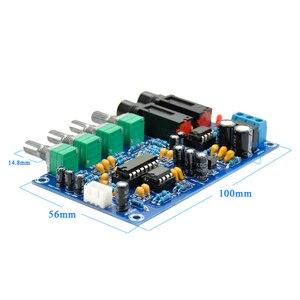 Image 4 - AIYIMA PT2399 amplificateur de Microphone numérique carte karaoké réverbération carte karaoké OK amplificateur Module double AC12V