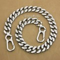 "16"" ~ 36"" Huge Heavy 316L Stainless Steel Mens Biker Rocker Punk Wallet Chain 5D106WC"